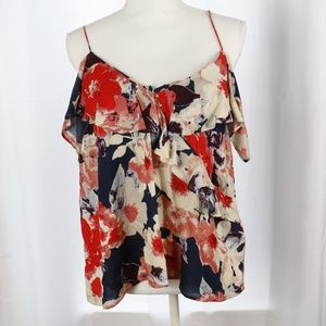 Lucky Brand Floral Camisole top